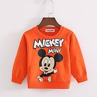 Детский реглан свитер Микки