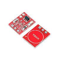 TTP223 TOUCH KEY сенсорний датчик для Arduino - Розпродаж