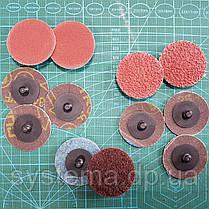 3M 947A Roloc Cubitron II - Шлифовальный фибровый круг для зачистки сварных швов д. 75 мм, Р 120+, фото 2