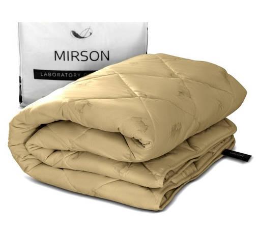 Одеяло шерстяное Полуторное 140х205 Зимнее Тик GOLD CAMEL 024, фото 2