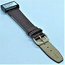 20 мм Кожаный Ремешок для часов CONDOR 086L.20.02 Коричневый Ремешок на часы из Натуральной кожи удлиненный, фото 3