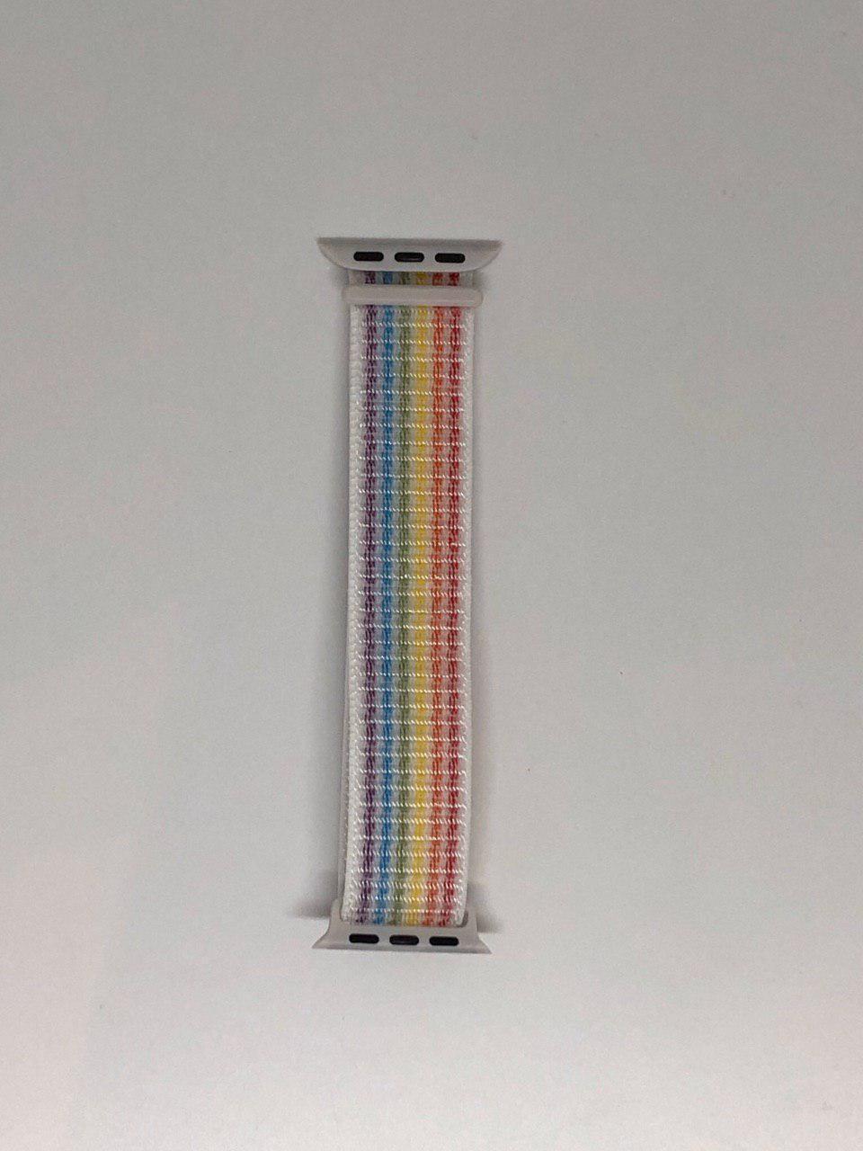 """Нейлоновий ремінець """"Семицветие №20"""" для Apple watch 42/44 mm"""