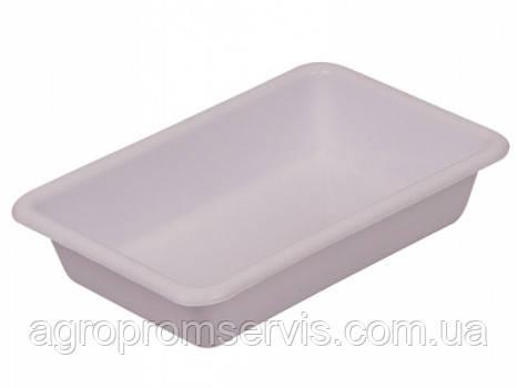 Лоток пищевой белый №4 Senyayla (54х38х9 см.), фото 2