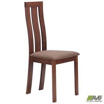 Обеденный стул Йорк орех светлый/тёмный AMF