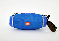 Портативная колонка XTREEM BT-777(18*8) (Bluetooth, USB, FM,2 дин, ремеш,Soft Touch) Blue