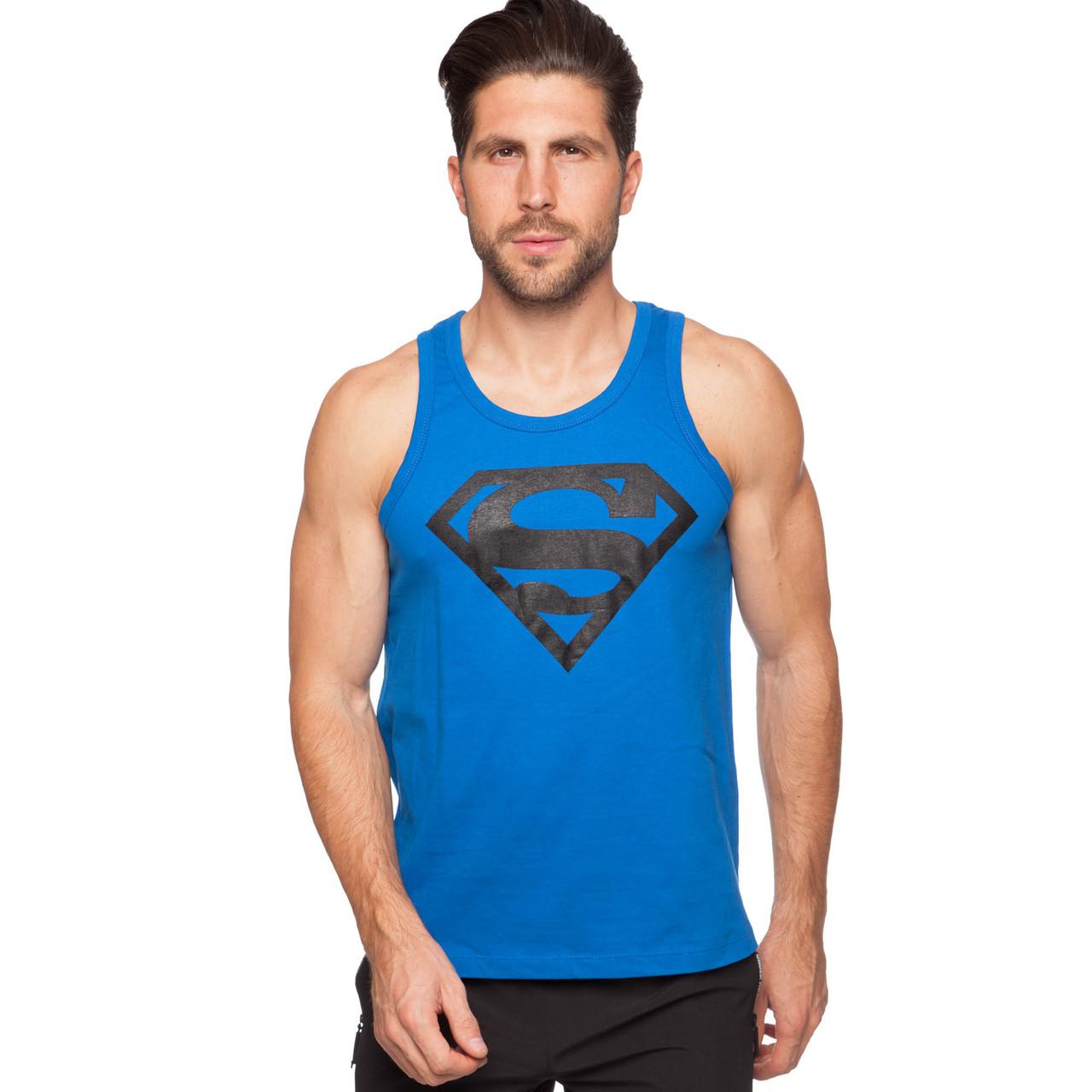 Майка борцовка спортивная мужская SUPERMAN размер S-XL-42-54 Синий S (42-44) PZ-CO-5890_1