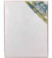 Холст чистый на подрамнике, грунтованный, 50х70 см., фото 1