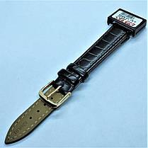 16 мм Кожаный Ремешок для часов CONDOR 526.16.01 Черный Ремешок на часы из Натуральной кожи, фото 3