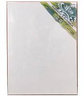 Холст чистый на подрамнике, грунтованный, 55х65 см.