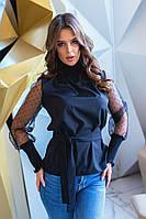 Блузка / софт, органза / Украина 35-300, фото 1