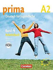 Prima Deutsch fur Jugendliche 4 Arbeitsbuch mit Audio-CD