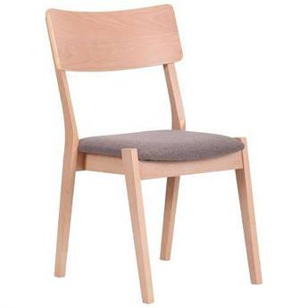 Обеденный стул Канталь каркас бук беленый AMF