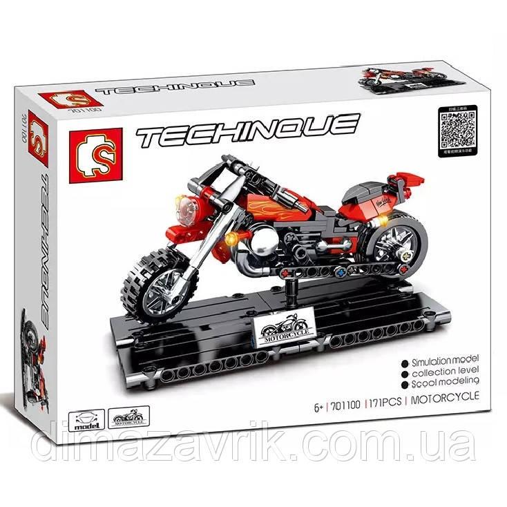 "Конструктор Sembo 701100 ""Мотоцикл на подставке""171 деталь"
