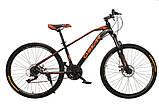 """Велосипед Oskar 26""""M115 чорний, фото 2"""