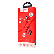 Кабель Hoco U37 Long roam charging data cable for Micro Red, фото 2