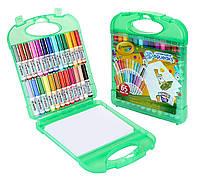 Фломастеры Crayola Pip Squeaks 25 шт и бумага в удобном кейсе