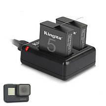 Зарядное устройство для двух аккумуляторов GoPro 5/GoPro 6 , фото 3