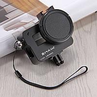 Металлическая рамка Puluz для GoPro Hero 5/6 с задней крышкой и UV фильтром (Aluminum Frame), фото 1