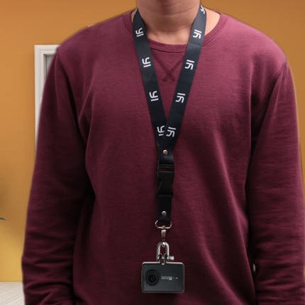 Страховочный ремешок Xiaomi для быстрого крепления экшн-камер на шею , фото 2