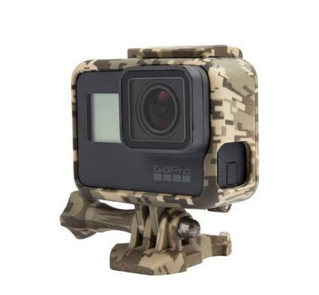 Пластикова рамка для GoPro Hero 5/ 6/ 7 Militari Пустеля, фото 2