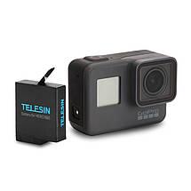 Аккумулятор Telesin для GoPro Hero 5/Hero 6/Hero 7 на 1220 mAh, фото 2