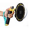 Купол поплавок для подводной съемки для GOPRO 5 / 6 / 7 BLACK (DOME PORT) Telesin