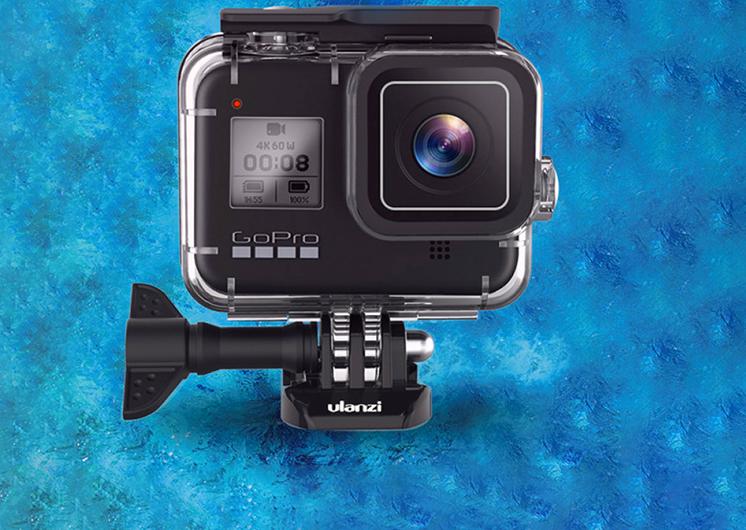 Защитный водонепроницаемый бокс для GoPro 8 Black Ulanzi