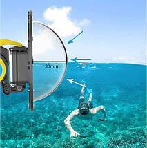 Купол поплавок для підводної зйомки для GOPRO 8 BLACK (DOME PORT) Telesin, фото 3