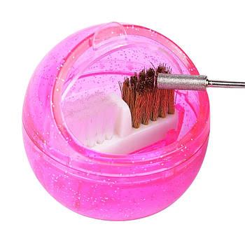 Контейнер-щетка для чистки фрез
