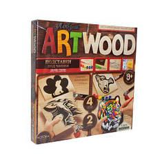 """Набор для выпиливания """"ARTWOOD: Подставки под чашки"""" LBZ-01-09"""