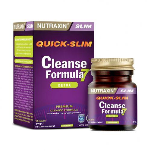 Очистка организма за неделю тройной детокс Cleanse formula Nutraxin 14 таблеток Biota