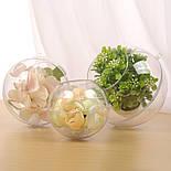 Прозрачный шар с отверстием 8 см, фото 2