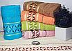 Лицевые турецкие полотенца GEOMETRI, фото 3
