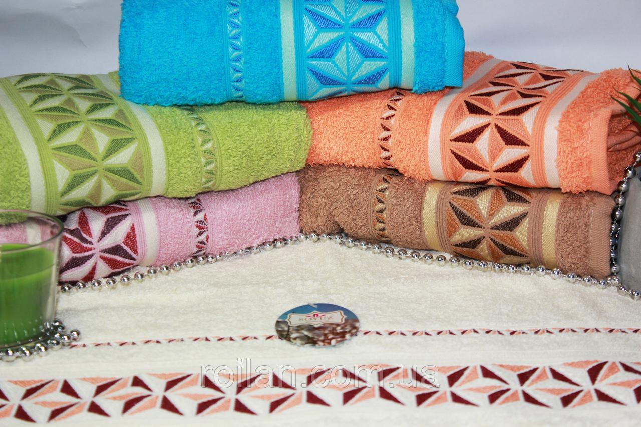 Лицевые турецкие полотенца GEOMETRI