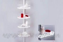 Полка для ванной Prima Nova на металлической трубе