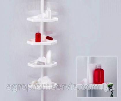 Полка для ванной Prima Nova на пластмассовой трубе, фото 2