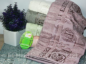 Банные бамбуковые полотенца Floral