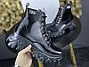 Женские ботинки MS Boots Full Black Fur, фото 3