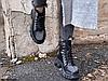 Женские ботинки MS Boots Full Black Fur, фото 4