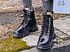 Женские ботинки MS Boots Full Black Fur, фото 6