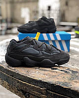 ⭐️ Кроссовки Adidas Yeezy 500 Utility Black с мехом ⭐️