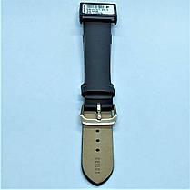 20 мм Кожаный Ремешок для часов CONDOR 081L.20.01 Черный Ремешок на часы из Натуральной кожи удлиненный, фото 2