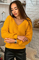 Вязаный свитер женский, фото 1