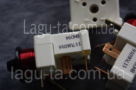 Реле пусковое компрессора Danfoss 117U6016, фото 2