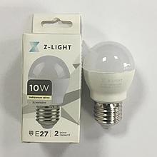 Світлодіодна Лампа 10W Е27 кулька 4000K Z-light ZL1001