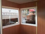 Пост охорони, кабінка охоронця 1,5х1,5м, фото 2