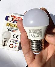 Світлодіодна Лампа 4W Е27 кулька 6400K Horoz Elite-4