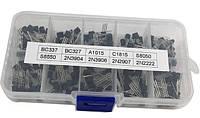 Набор транзисторов 200шт. - BC337 BC327 2N2222 2N2907 2N3904 2N3906 S8050 S8550 A1015 C1815