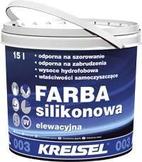 Farba Silikonowa 003 - краска фасадная силиконовая, Кreisel (Крайзель)
