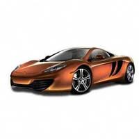Автомодель - MCLAREN MP4-12C (ассорти оранжевый металлик, желтый металлик, 1:24) от Bburago - под заказ